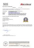 Certificate of S.G.S