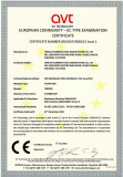 chain saw certificate