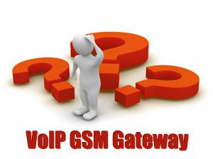 FAQ on GSM VoIP Gateway