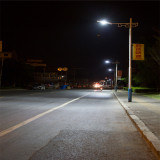80W street light project in Hongze of China