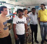 Bangladesh customers factory visit record