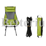 High back Chair with Headrest for fishing