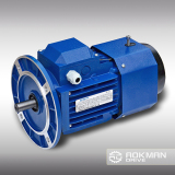 Aluminum Housing AC Motor With Brake