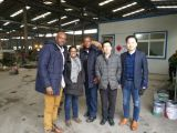 Clients from Jamaica for steel construction chiken house