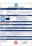 CE certificate of Durmapress Company