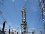 Polymeric Arrester Service of the Substation