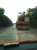 Grove truck crane 80ton