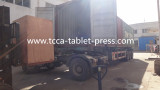 Chemical SDIC /chlorine tablet press shipped to Africa