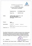 AE Certiicate of comformity EMC