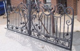 wrought rion door and gate
