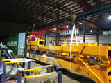 Packing Mobile Foldable Tower Crane To Indonesia