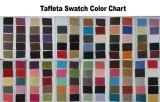 Taffeta Swatch Color Chart