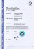 CE certificates for medical products