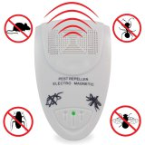 Electronic Ultrasonic Rodent Repeller Controls Home Pests Repel Mice, Rats, Moths, Bats, Mosquitoes,