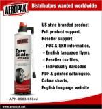 AEROPAK Tyre Sealer & Inflator APK-8503 650ml Agent