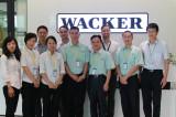 technical exchange with wacker
