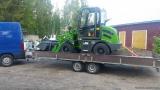 HZM wheel loader in Finland
