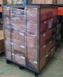 Products with metal pallet