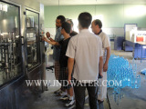 Our engineers installed machines in customer′s Water Plant inKingdom of Saudi Arabia