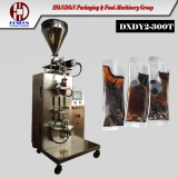 Coffee syrup bag packing machine automatic
