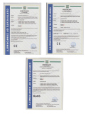E40 LED street light Certificate-CE RoHS