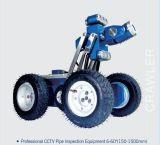 Sewer inspection crawler robots