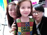 we with our customer′s daughter