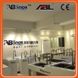 Ablinox Stainless Steel Sanitary Accessories System Showroom