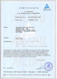 CE certificate of Infrared Cooker