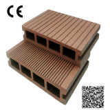 hollow no-rotting WPC outdoor laminate deck