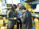 Visiting Customer in Birmingham United Kingdom 2014