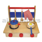 Wooden Toy - Folding Kitchen