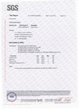 SGS Report for The Magnet Silver Coating B Page
