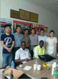 KPLC′s engineer visit Zhejiang zhongneng electrical co.,ltd