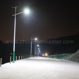 solar street led light in dongyang China