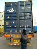 full 40′ container well packaged water chiller ready to Brazil