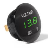 Universal Digital Display Voltmeter Waterproof Voltage Meter LED for DC 12V-24V Car Motorcycle Auto