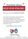 Search for Regional Market Development and Sales (French)