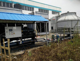 100Ton water cooled screw chiller for plastic machine factory