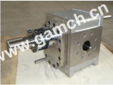 Chemical melt gear pump