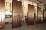 Automatic painting lines paint doors