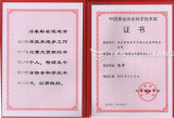 Science and technology award from China gold about dry tailings system