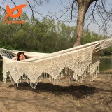 more 100% Cotton tassel double hammock for your choosing now