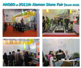 Haobo Attend 2011th Xiamen Stone Fair