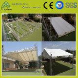 Project in India aluminum spigot roof truss size(36m*36m*9m)