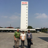 our clients from Monglia visted our plant