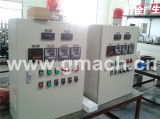 Electrical controlling pack for screen changer