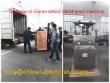 6-15mm diameter rotary tablet press machine shipped to spain again