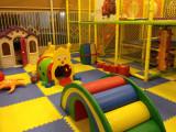 indoor playground in showroom