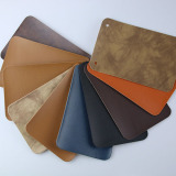 Newest high quality Label leather for brand logo